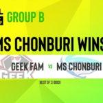 ไทยมาโหด!!! MS Chonburi จัดการGEEK FAM 2-0 ในESL SEA CHAMPIONSHIP 2020