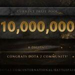 เพียง2 วัน!!! Battle pass TI10 ทะลุ 318 ล้าน
