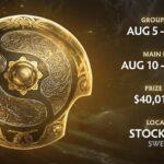 ยืนยันแล้ว!! TI10 จัดแข่ง ในวันที่ 5 ส.ค. พร้อมเงินรางวัลถึง 1.2 พันล้าน